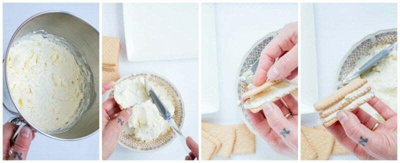 No bake taart met Mascarpone