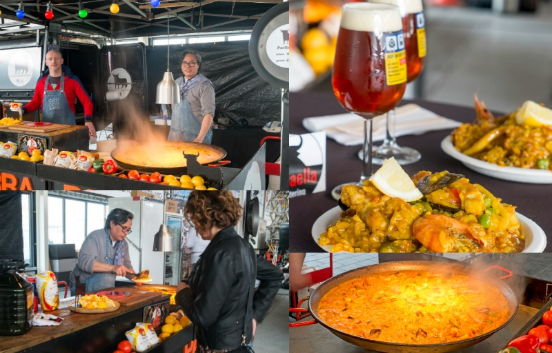 Hop On Hop Off Festival, Barra Paella Catering