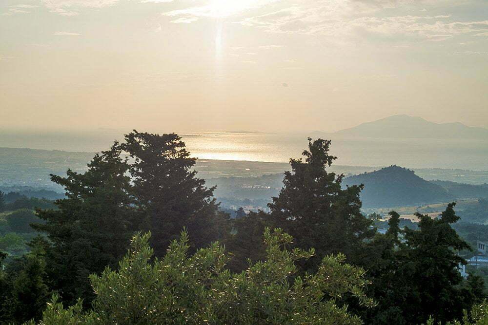 Zia op Kos, zonsondergang