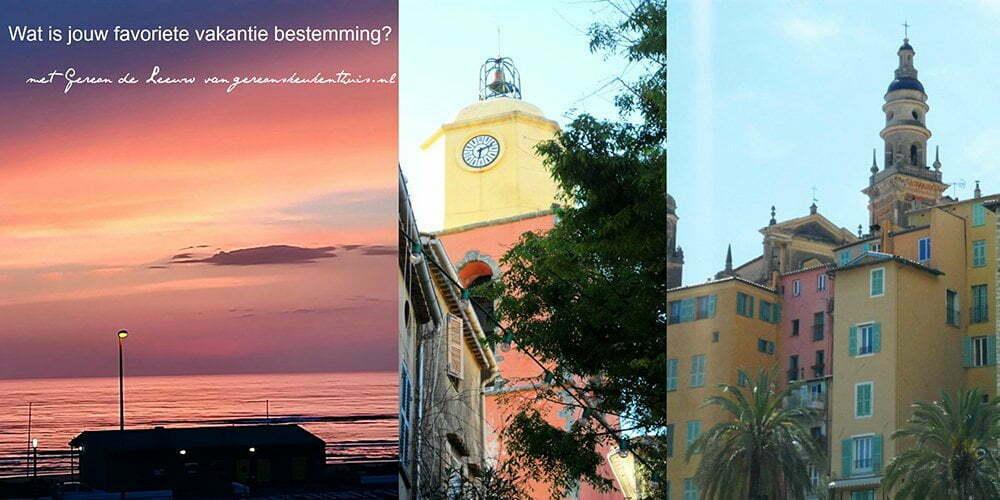 Wat is jouw favoriete vakantie bestemming? met Gereon van gereonskeukenthuis.nl