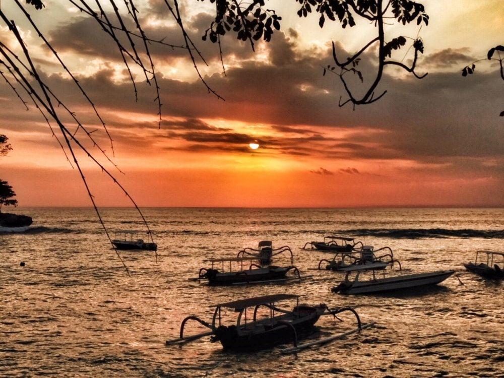 Deze foto is gemaakt op Nusa Lembongan, een klein eilandje voor de kust van Bali.