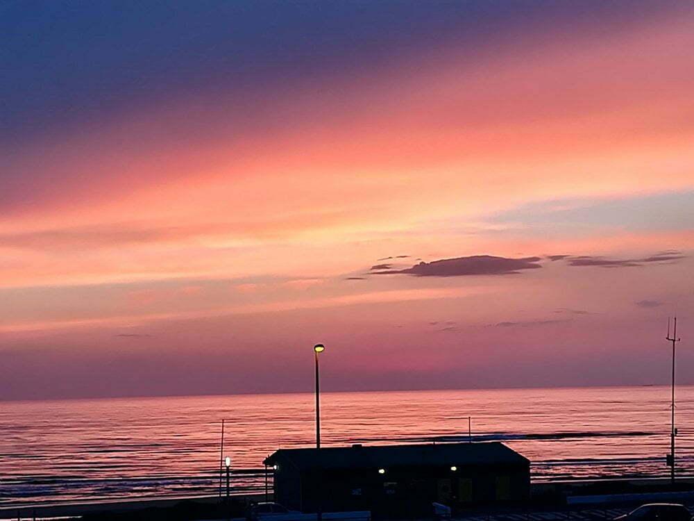 foto: vanaf balkon SeaSpot van gereonskeukenthuis.nl