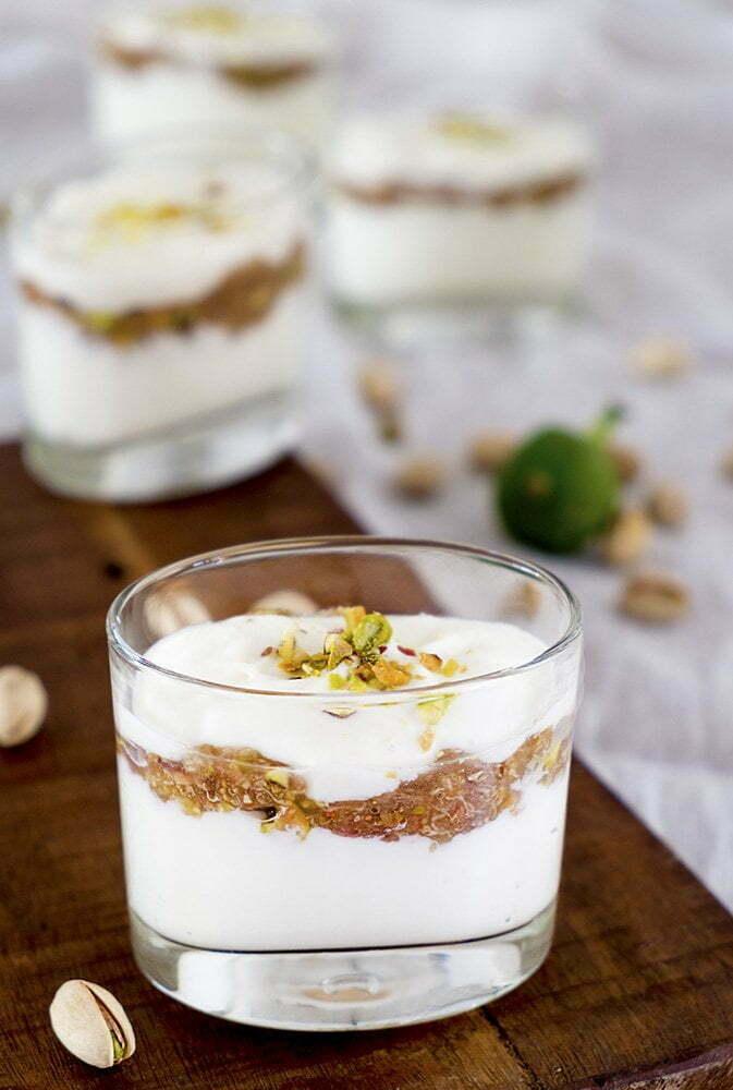 Dessert met verse vijgen en pistaches Elsarblog