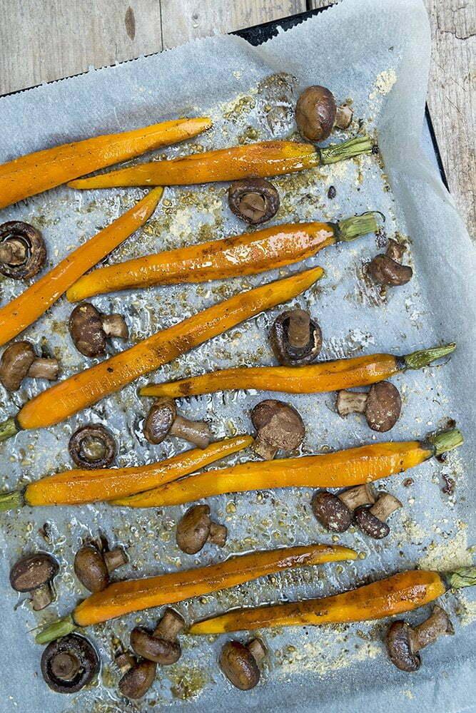 Overheerlijke wortels uit de oven