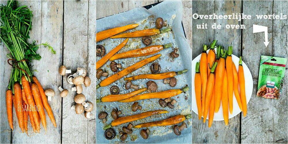 Overheerlijke wortels uit de oven - Foodybox.