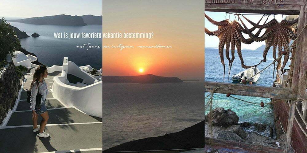 Wat is jouw favoriete vakantie bestemming? met Sanne