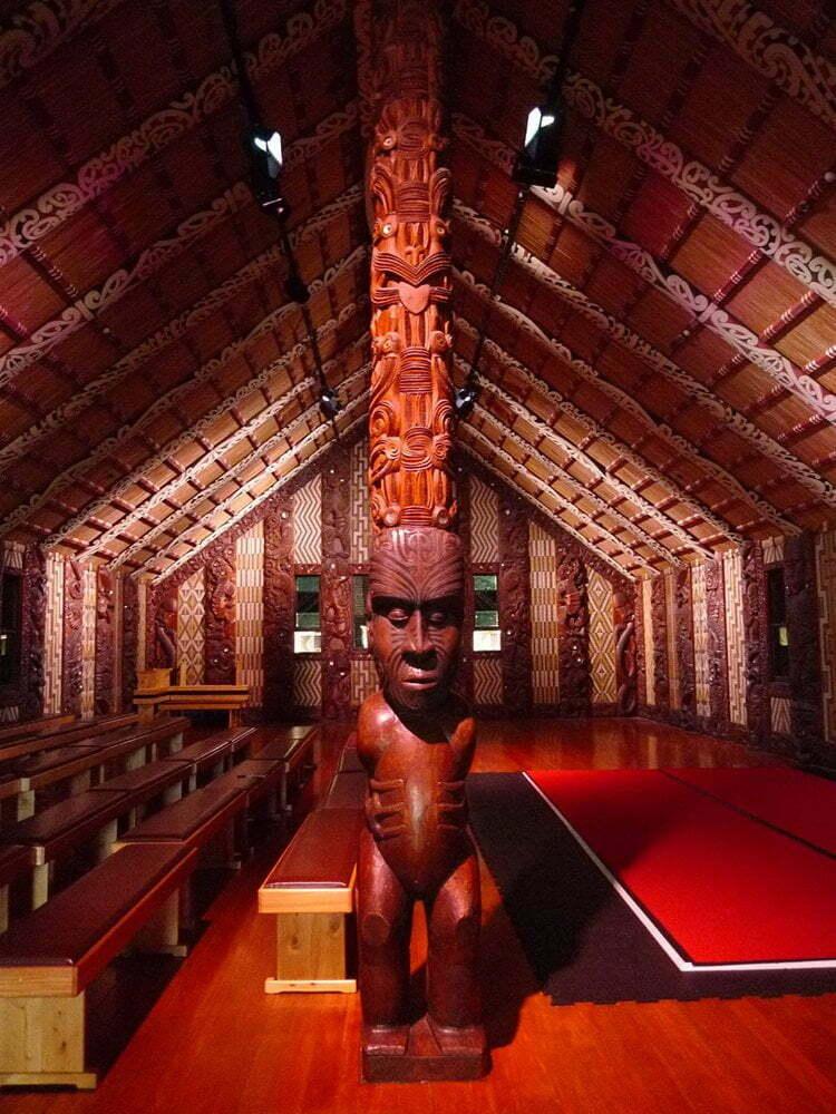-Ontmoetingshuis Maori Waitangi Treaty Grounds