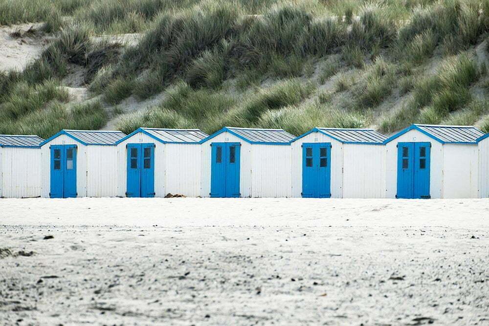Texel: Geweldig met zijn mooie strandhuisjes.