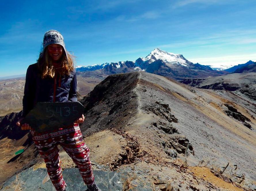Lizzie: Chacaltaya, La Paz, Bolivia