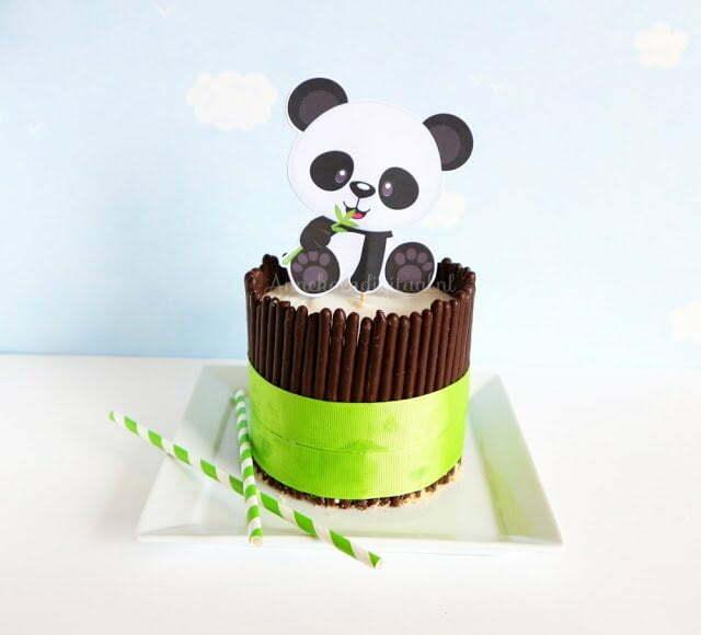 Panda taart - Recept