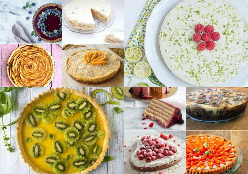 Top 10  heerlijke fruittaart recepten