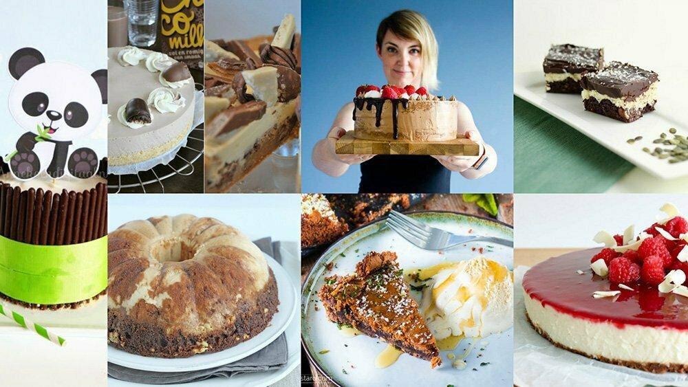 Top 8 van de lekkerste en de mooiste chocolade taarten.