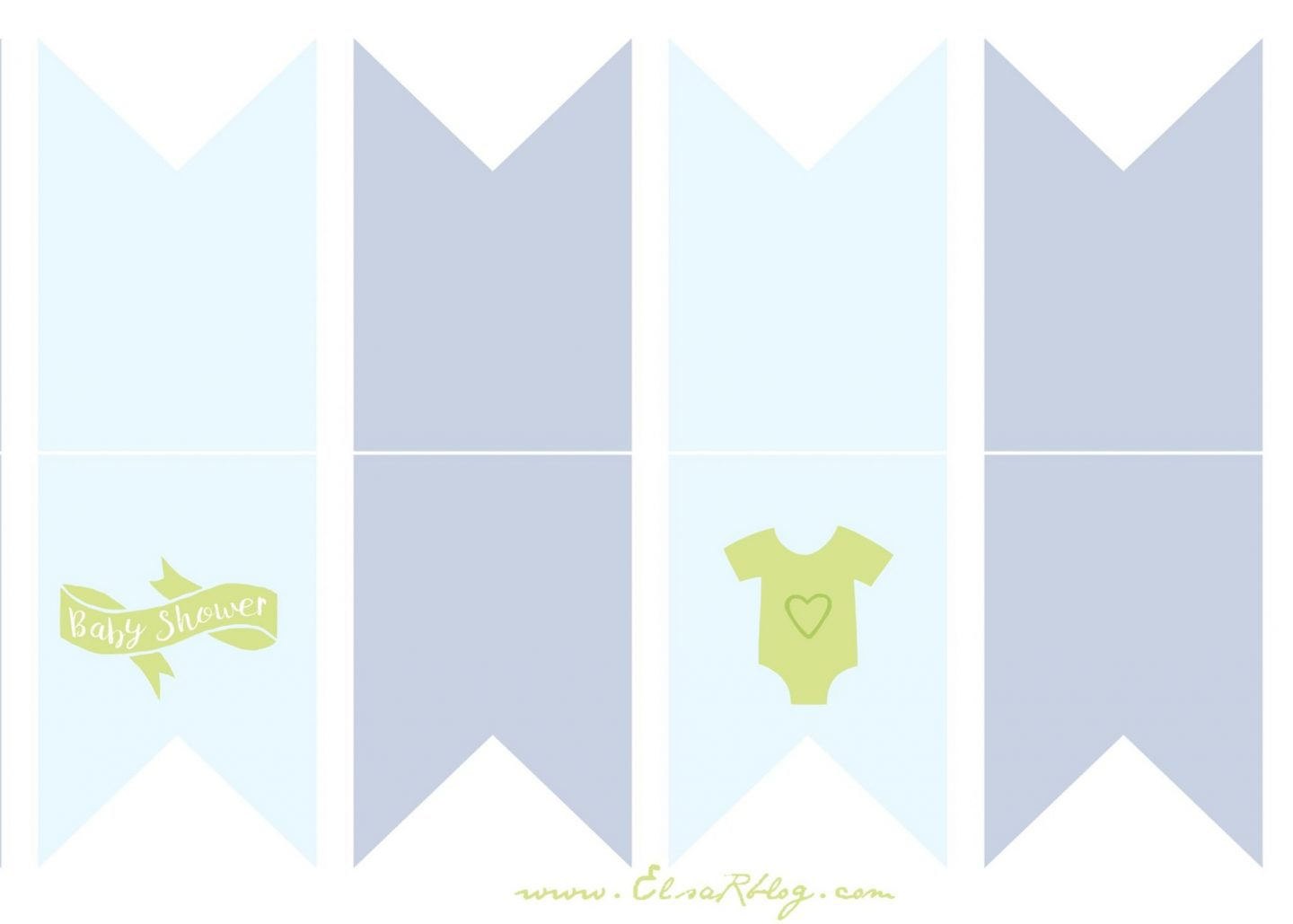 Free printable Boy Babyshower