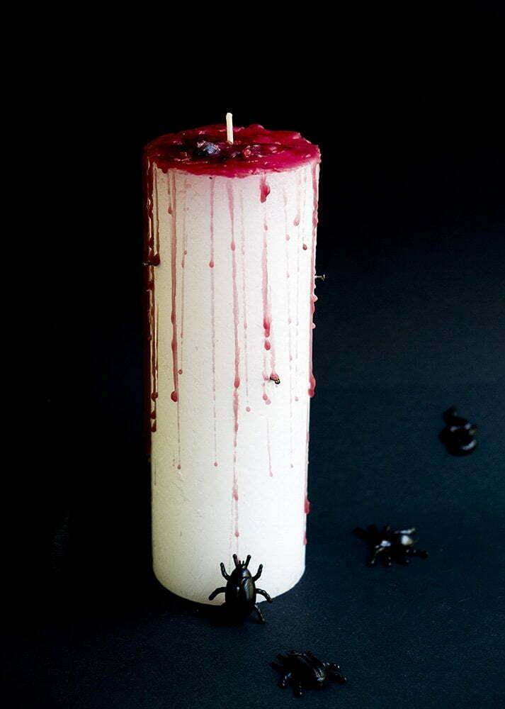 Wat Zeg Je Met Halloween.Crea Hop Halloween Met Bloed Kaarsen Winactie Elsarblog
