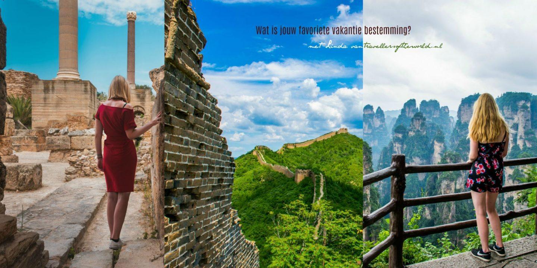 Wat is jouw favoriete vakantie bestemming? met Linda van travellersoftheworld.nl