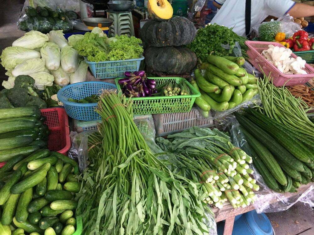 Op de markt in Thailand Anne-Marie Otter