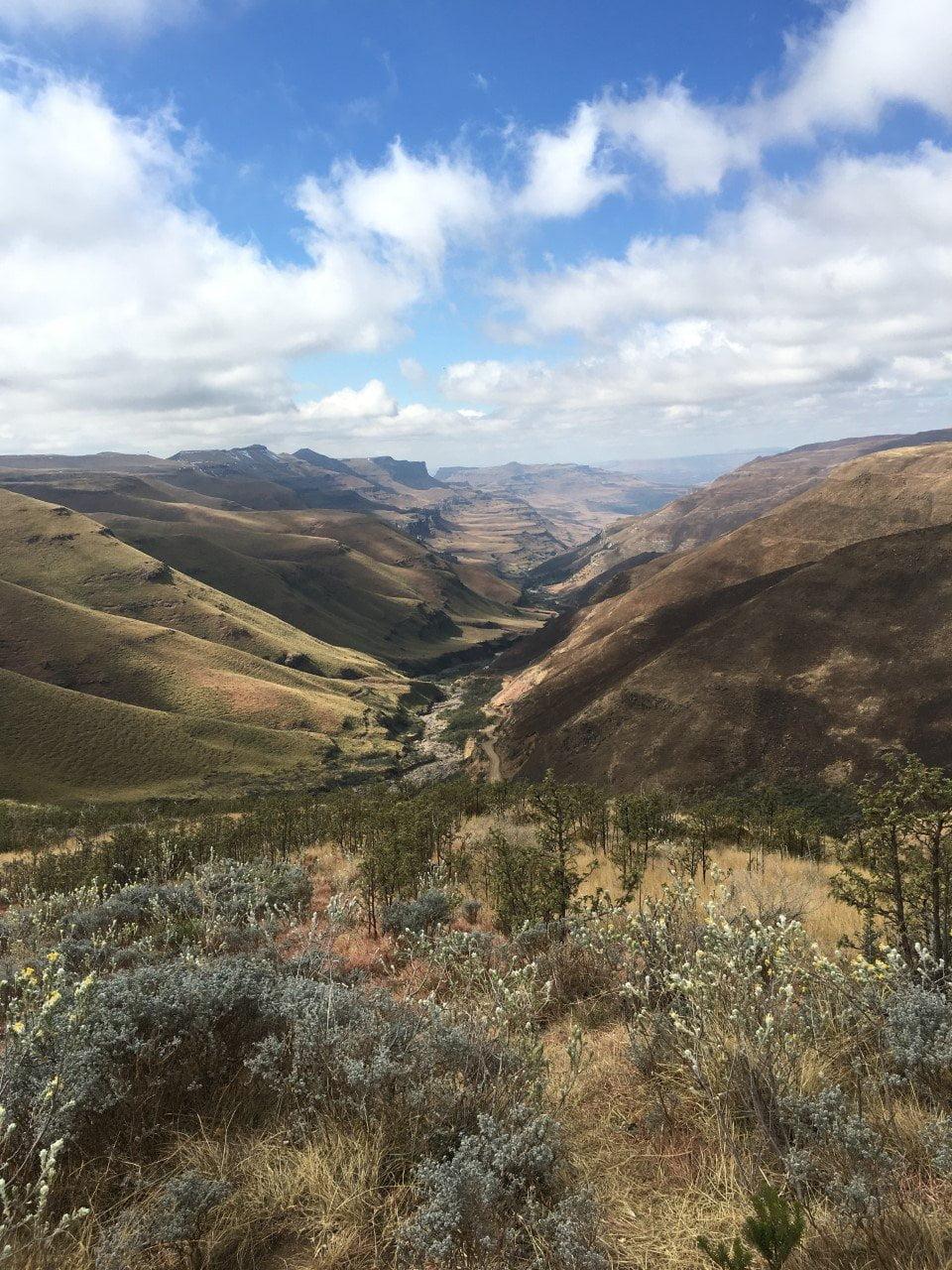 Zuid-Afrika, Lesotho (uitzicht)