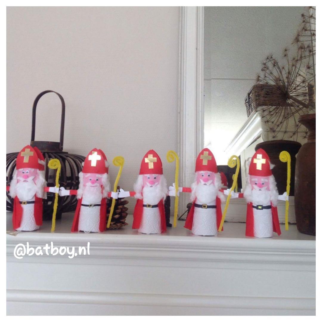 Sinterklaas versiering maken⇔batboy.nl