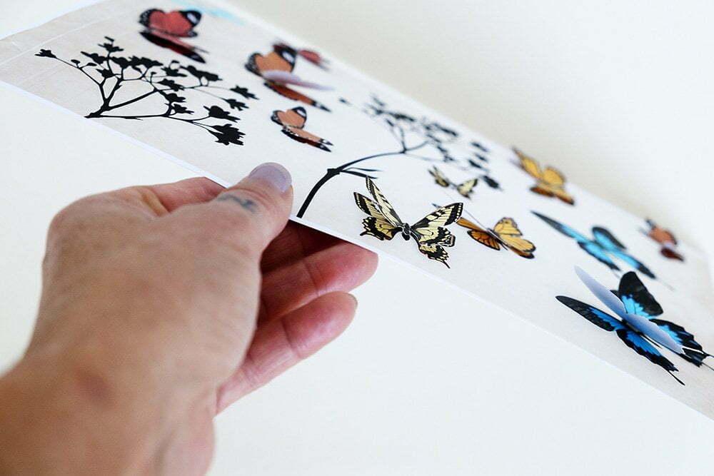 Diy: met vlinders - Free printable