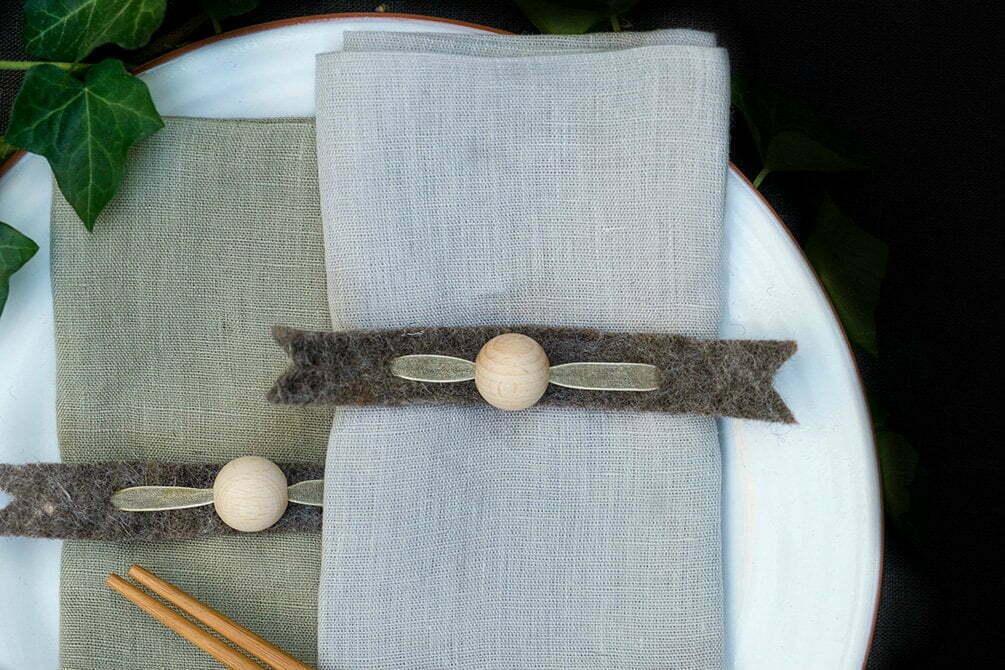 Creatief de tafel dekken voor de Feestdagen - Diy