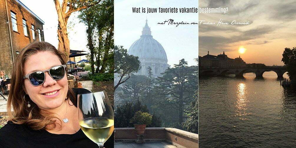 Wat is jouw favoriete vakantie bestemming? met Marjolein van Foodies Have Arrived