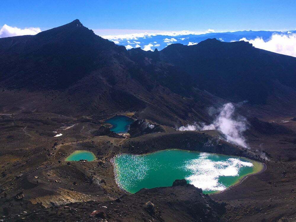 Nieuw-Zeeland: ruige natuur en de bergen, in het noorden vind je geisers, vulkanen en strand
