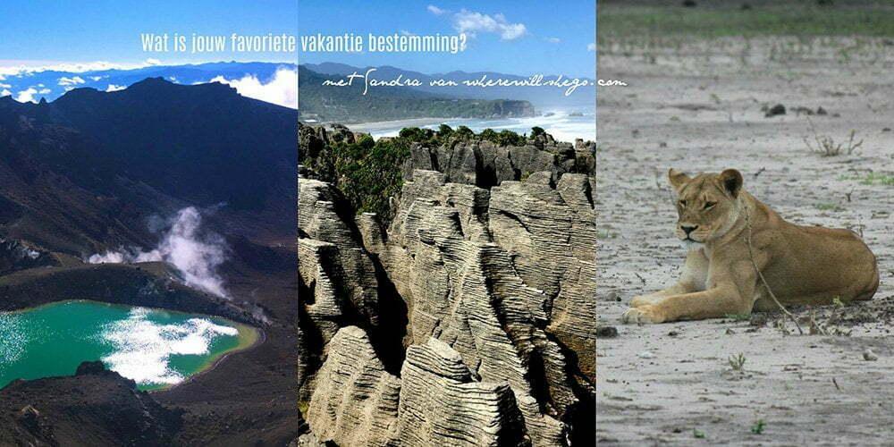 Wat is jouw favoriete vakantie bestemming? met Sandra van Where Will She
