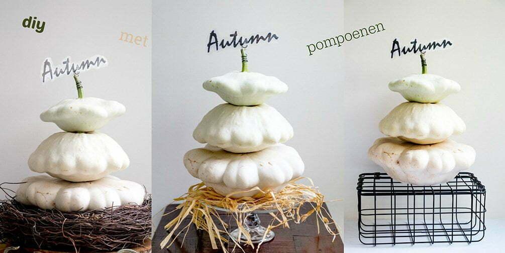 Autumn diy met pompoenen - Free Printables