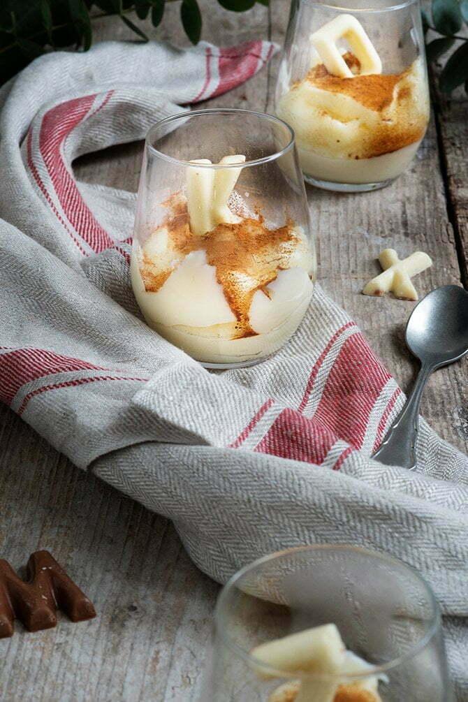 Maizena toetje in 10 minuten - Dessert