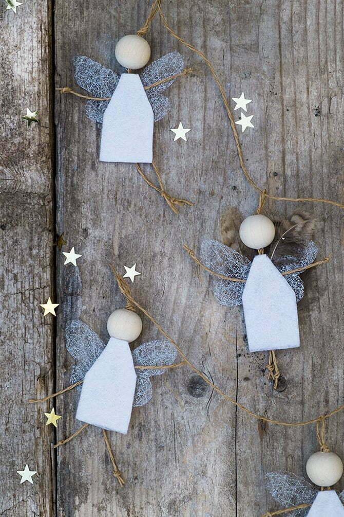 Hoe Maak Je een Engeltje - Kerst Diy