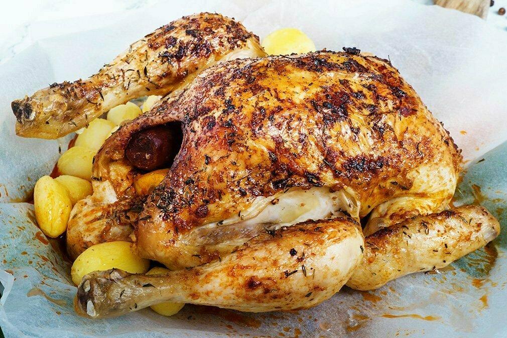 Hoe bak je een kip in de oven - Ovenschotel