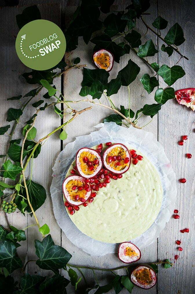 Avocadotaart met pistachenoten en gezoete gecondenseerde kokosmelk - Foodblogswap