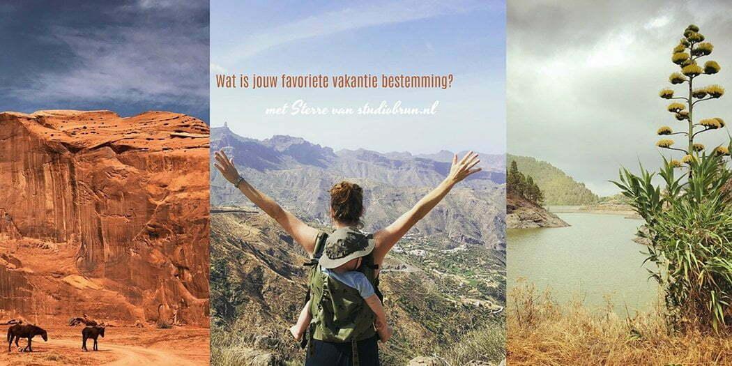 Wat is jouw favoriete vakantie bestemming? met Sterre van Studiobrun.nl