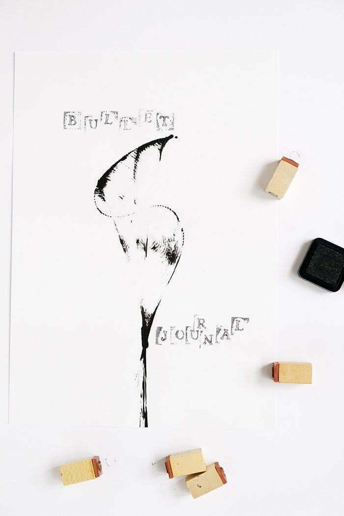 Tip om je Bullet Journal te versieren - Diy