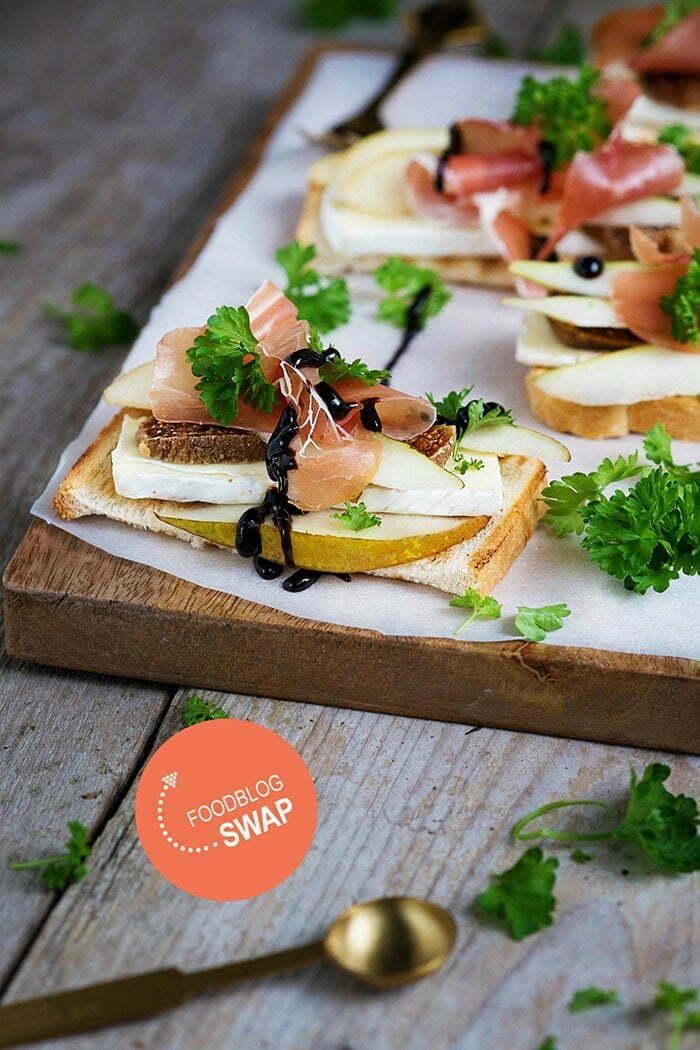 Brie met gedroogde vijgen en zachte peer – Foodblogswap