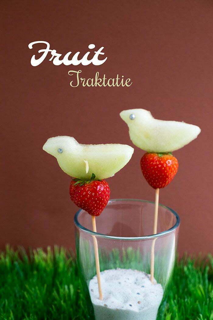 Gezonde Fruit vogels - Traktatie