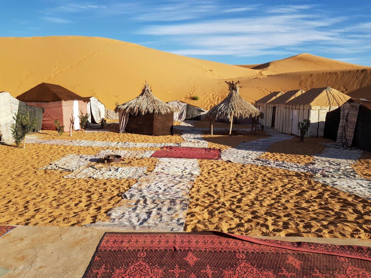foto van Oysters & Footprints (berberkamp_sahara_marokko)