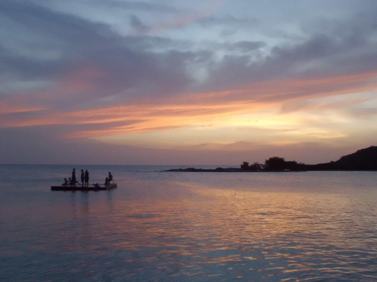 strand bij Jan Thiel op Curaçao