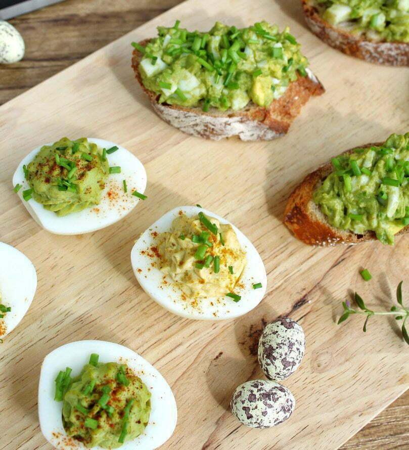 gezonde gevulde eieren: healthyfoodiemanon.com