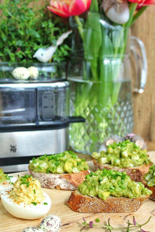 Gezonde avocado eiersalade: healthyfoodie manon.com