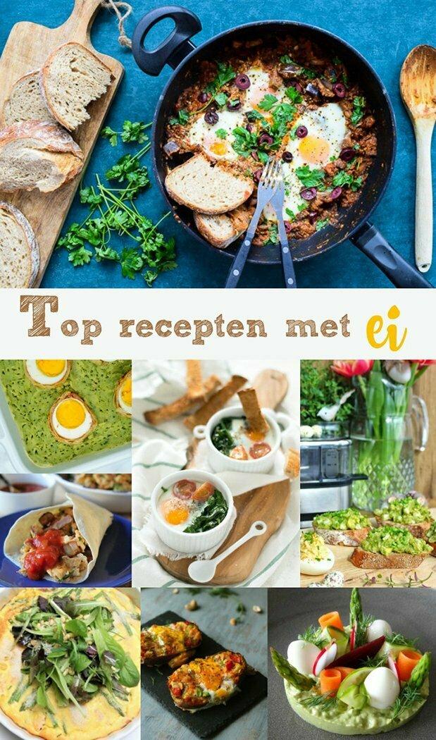 Top recepten met ei