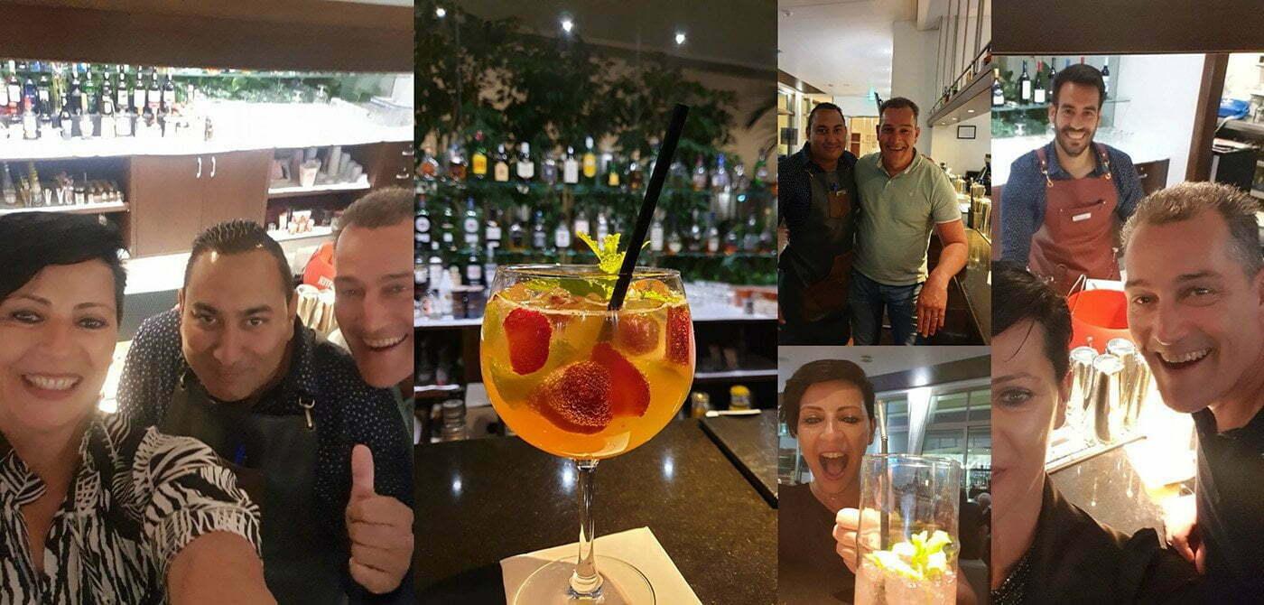 dank aan Tony en Daniel voor de overheerlijke cocktails en de gezellige gesprekken.