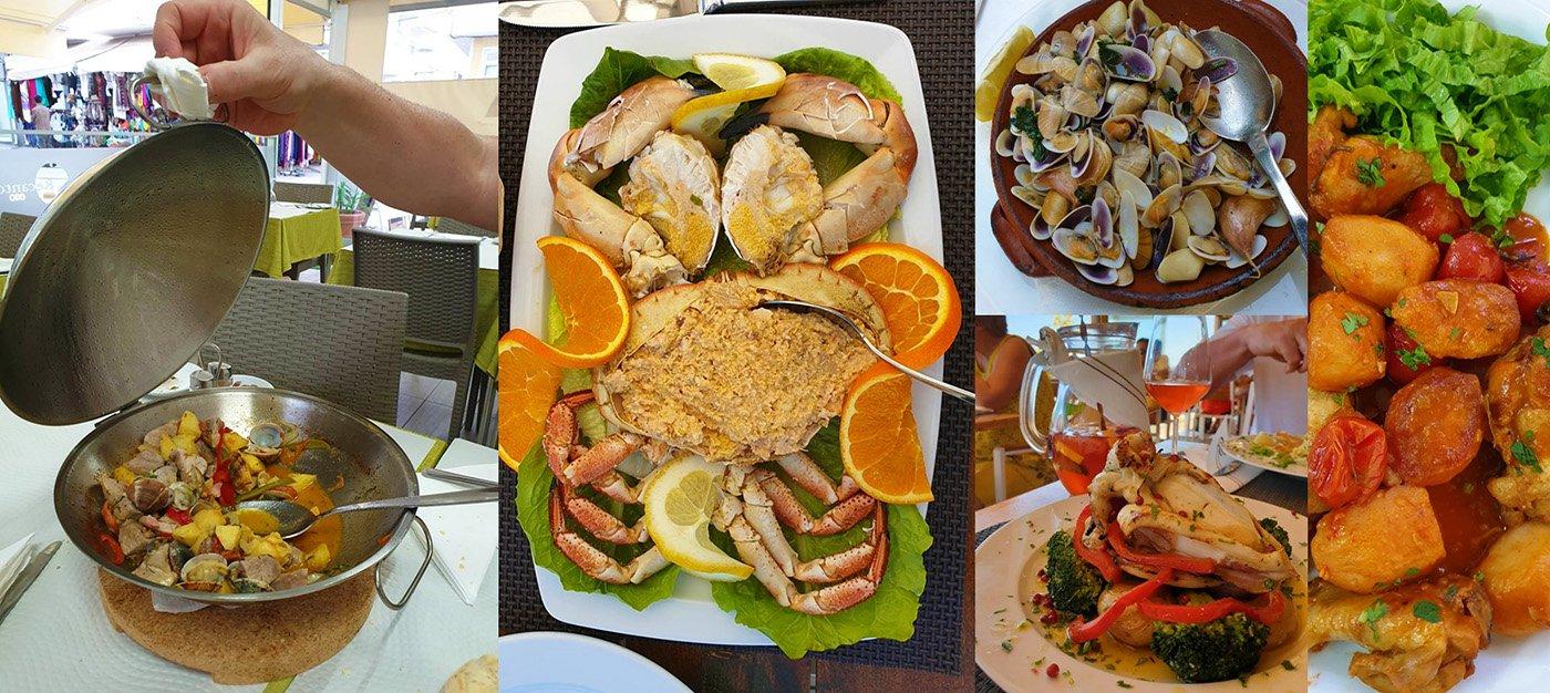 lekker eten Algarve
