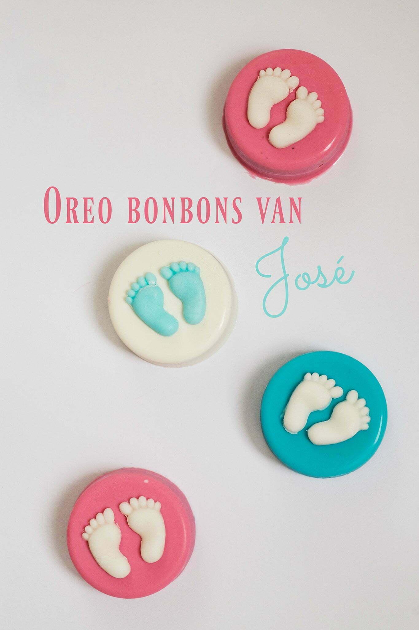 Hedendaags Oreo bonbons van José - Baby Gender Party - Gastblog 4 – ElsaRblog EU-54