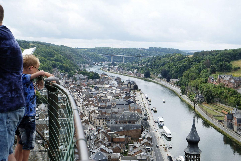 Dinant: uitzicht vanaf de Citadel