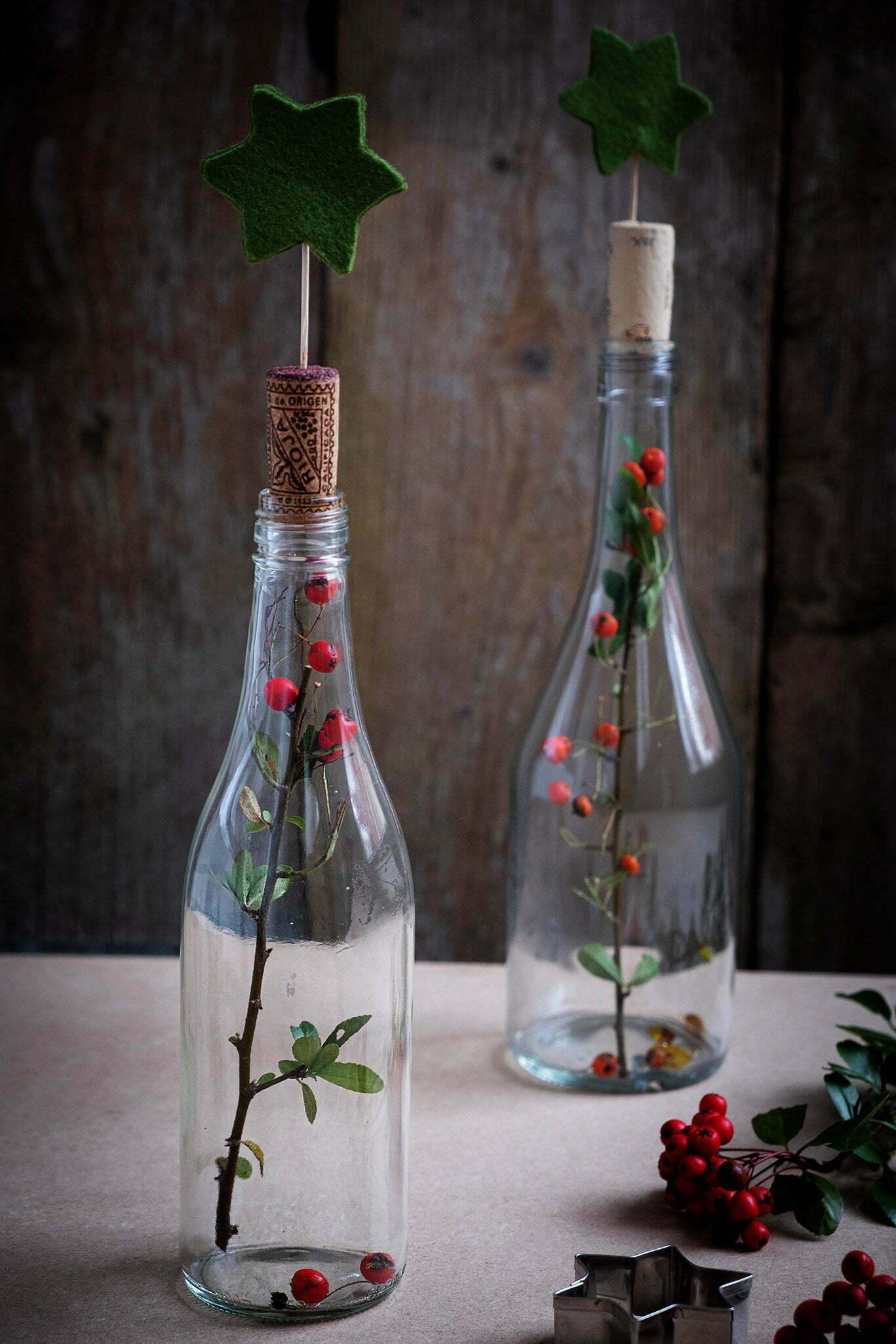 Diy budget decoratie voor op de kersttafel – Kerst