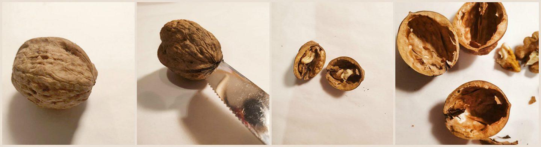 Adventskalender zelf maken met walnoten - Kerst
