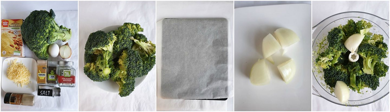 Broccoli fritters van Anja
