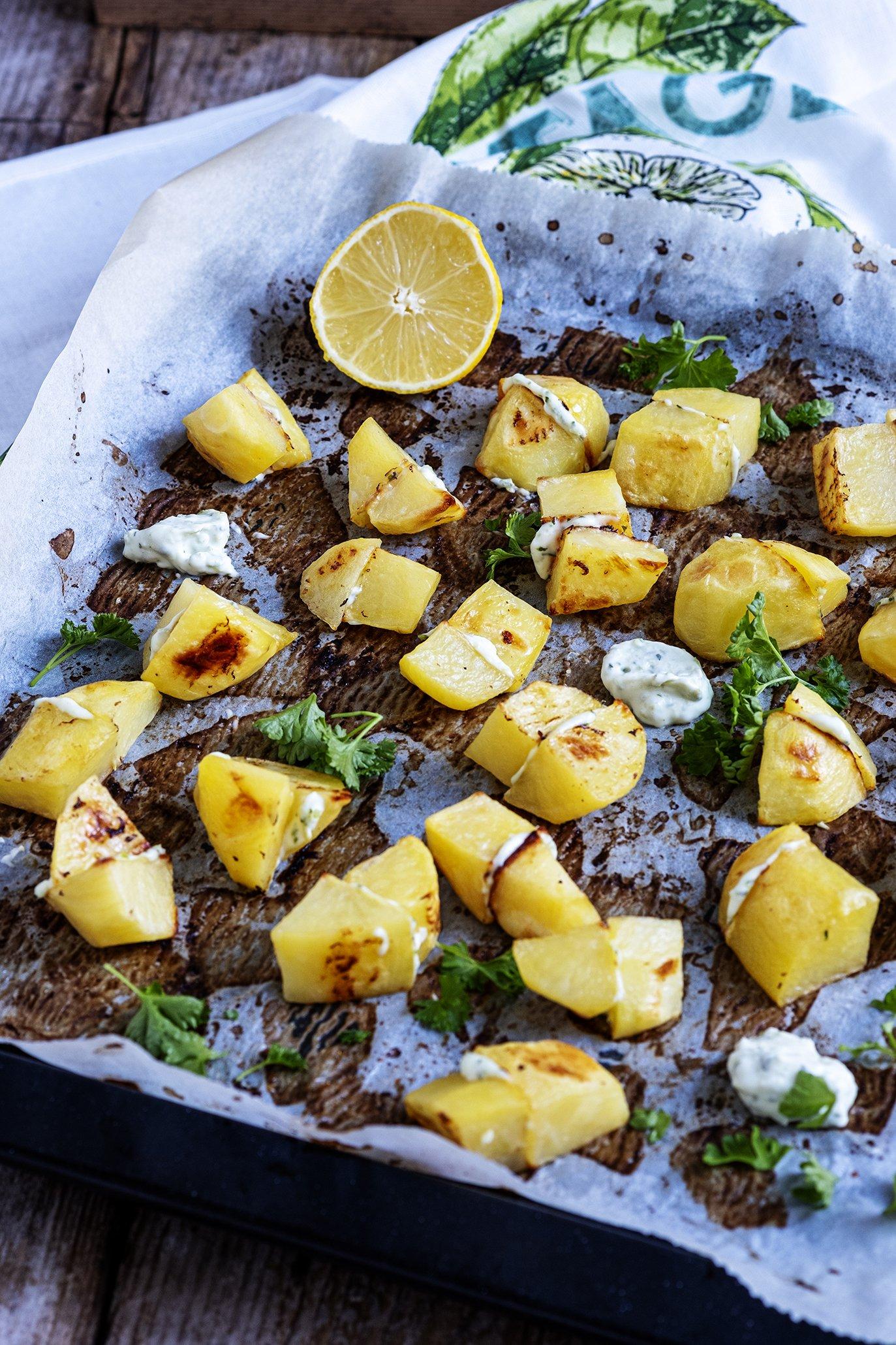 Aardappels in de oven met Heks'kaas – Foodybox