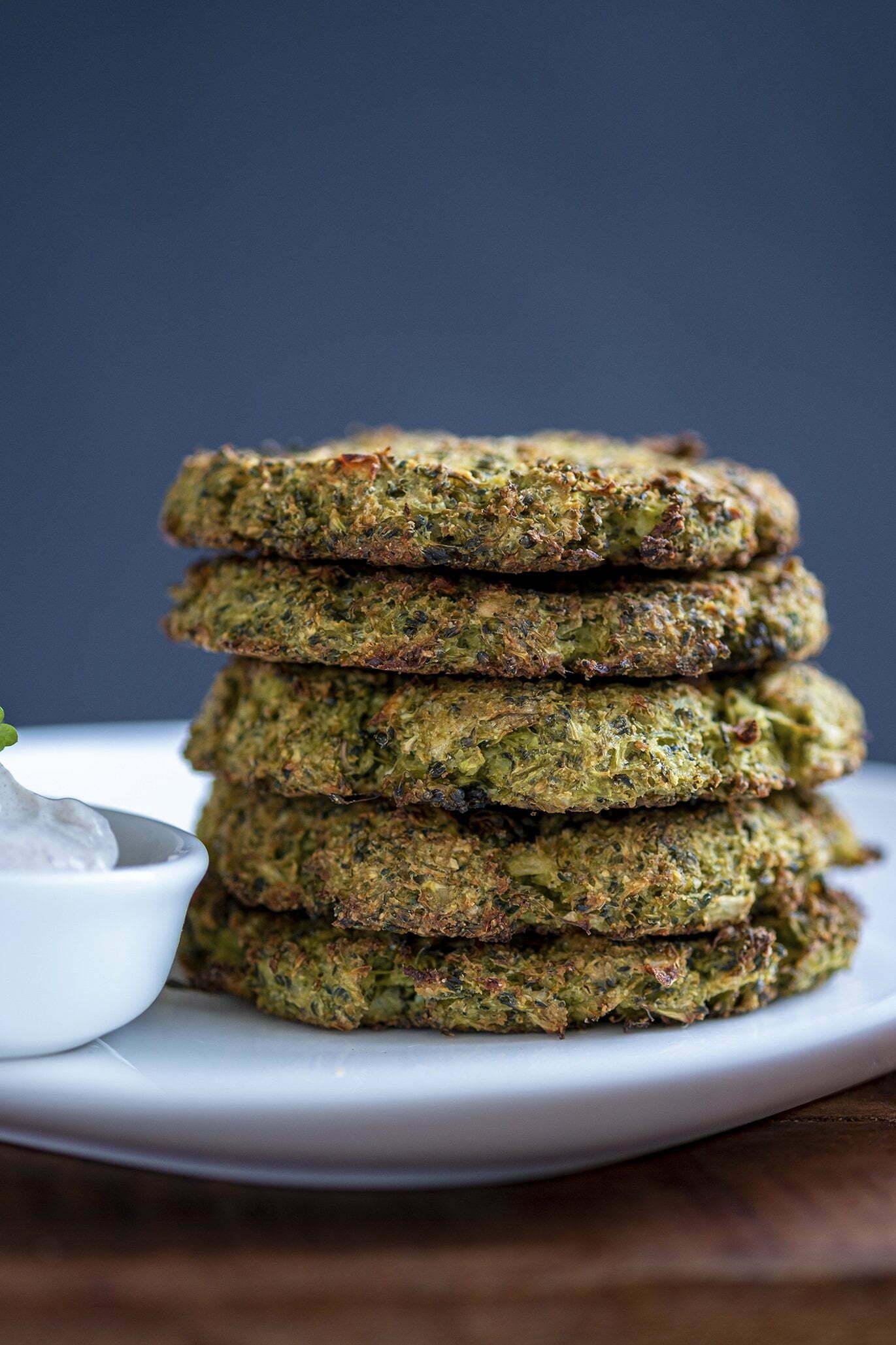 Broccoli fritters van Anja - Foodblogswap